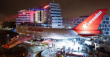 Corendon Boeing 747 Has 'Landed' in Hotel Garden