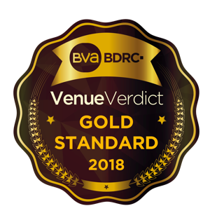 Jupiter Hotels Goes For Gold at the VenueVerdict Accreditations 2018