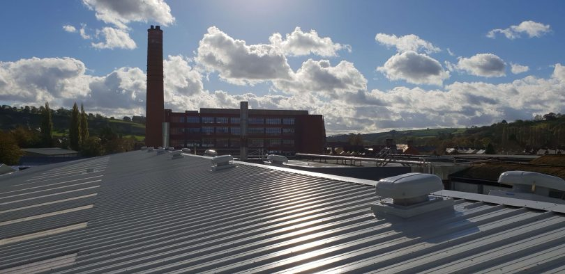 Main Contractor Raises the Roof of Local Textiles Firm as Part of Expansions Programme