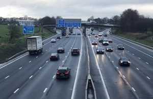 Biggest Ever Upgrade of M6 in Cheshire Fully Open