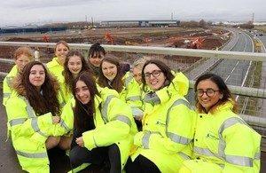 Highways England Builds Bridges on International Women's Day