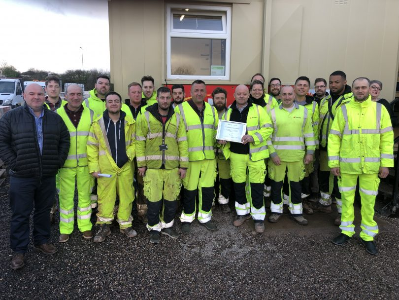 McCann Scoops Consecutive Supplier of the Month Awards for Works on M6 J2-J4 Smart Motorway Project