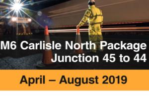 Quieter, Smoother M6 in £7 Million Carlisle Upgrade