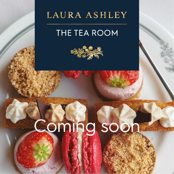 Bookings now open for the first Laura Ashley The Tea Room opening in Cornwall