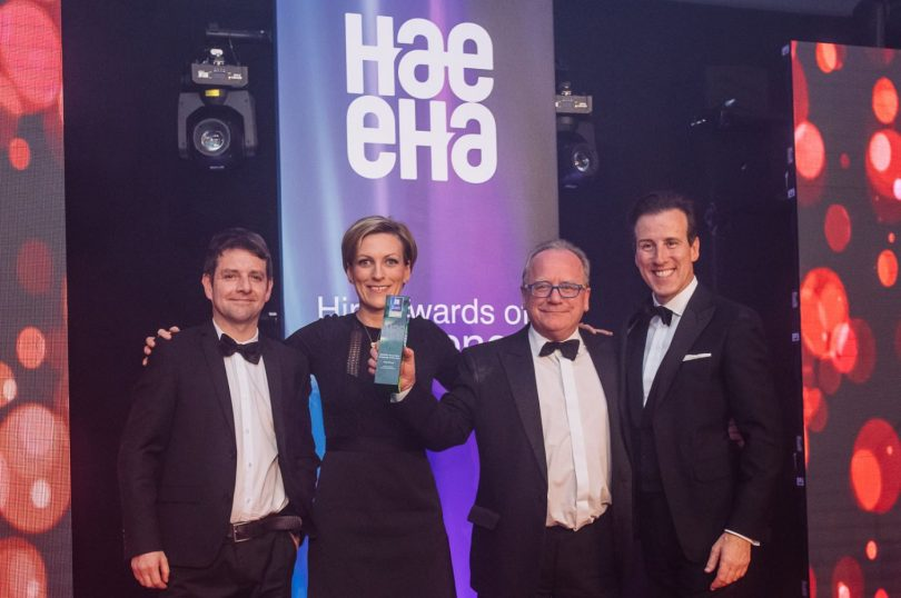 GAP Hire Solutions Awarded at the Hire Awards of Excellence 2019