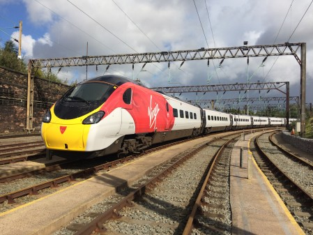 New record set by Virgin Trains as passengers opt for rail over air
