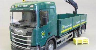New Model Truck in Travis Perkins Fleet