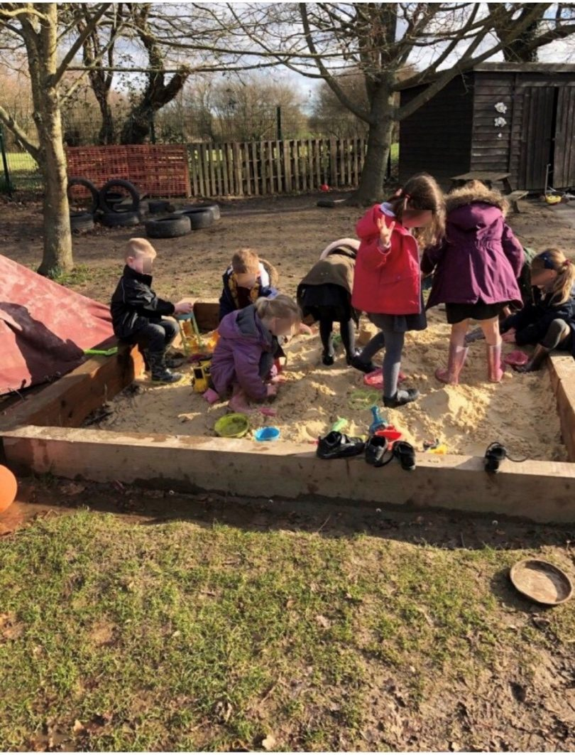 Covers Chichester Helps Primary School to Improve Playground