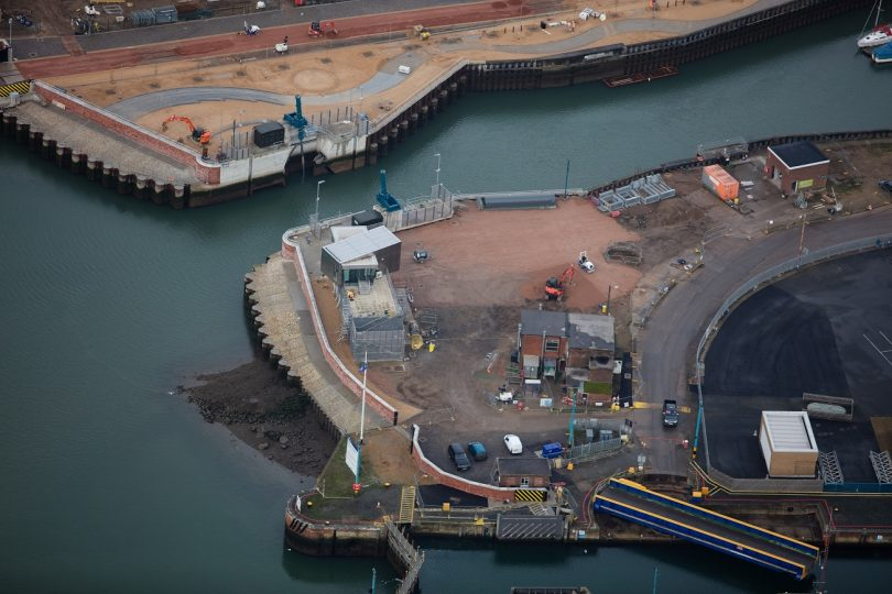 £67m Ipswich Tidal Flood Barrier Wins Top Engineering Award