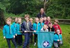 1st Roffey Scout Group Receives Funds to Replace Floor