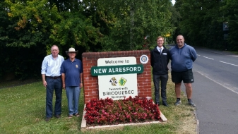 Covers Donates Materials to Alresford Rotary Club