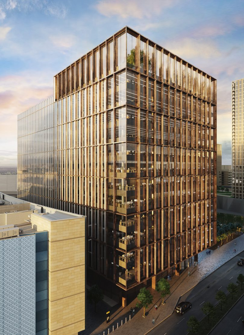 HMRC Leases Entire 300,000sq.ft Office Building for New London Hub as Unibail-Rodamco-Westfield and Legal & General Celebrate Topping Out at Stratford Development