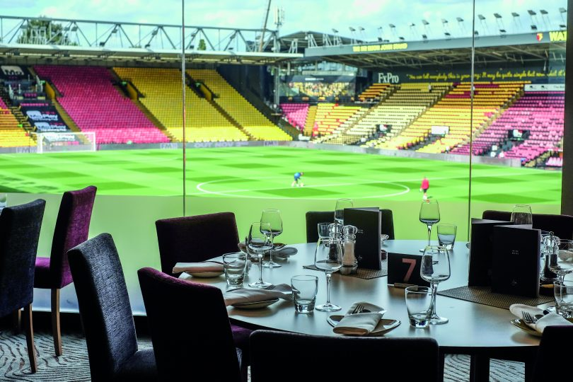 Watford FC's Hospitality Best In Football