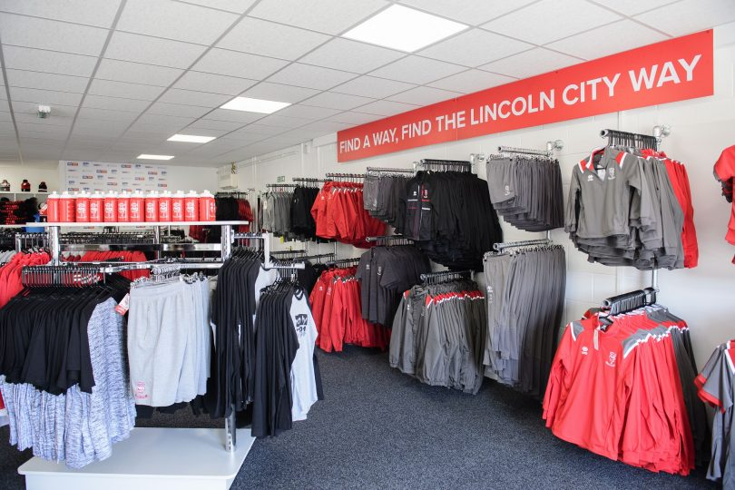 First Look at Lincoln City FC's VIP Areas and Club Shop Created by APSS