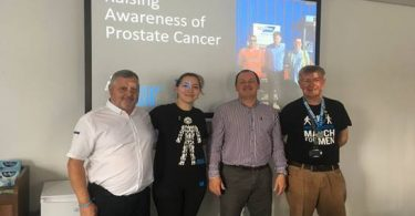 Keyline Hits the Road with Prostate Cancer UK along the A14