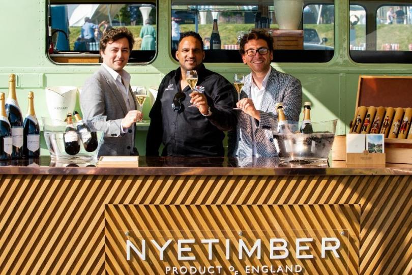 Lympstone Manor, Devon Announces Partnership with Nyetimber