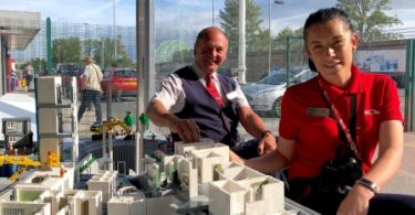 Virgin Trains gets Behind The Big LEGO® Brick Hospital