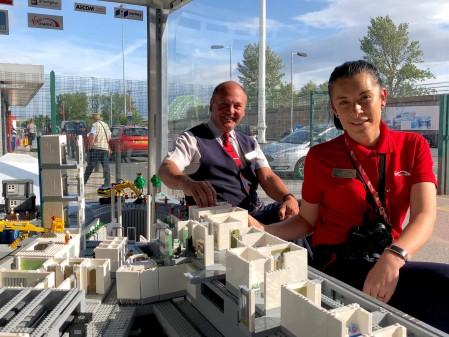 Virgin Trains gets Behind The Big LEGO® Brick Hospital