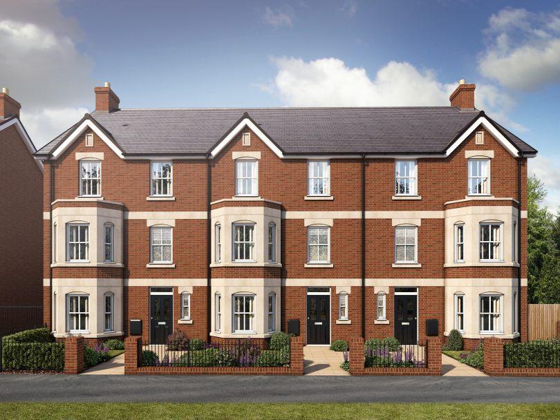 Commutable Family Homes are Back at Bedford's De Montfort Place
