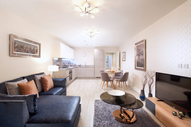 Inland Homes Puts on a Show at Centre Square