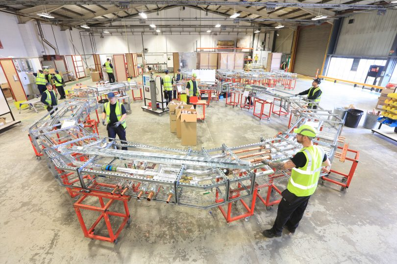 SES Engineering Services Relocates Award-Winning Offsite Manufacturing Facility to Coventry