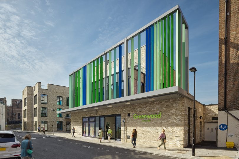 AHR-designed Greenwood Centre houses the first Centre for Independent Living for the Camden community