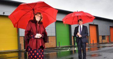 Come Rain or Shine, Centurion Park Commands Attention with Businesses