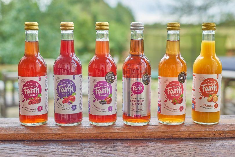 Farm-Pressed Juice Range, Barn Farm Drinks, Achieves Nisa Listing