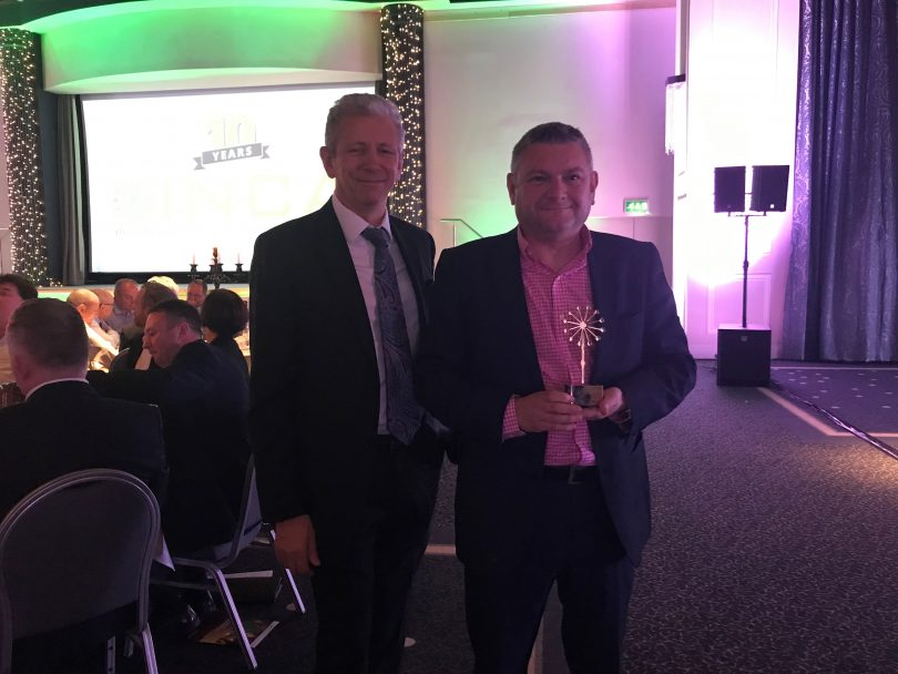 Gaist recognised for technical innovation at esteemed INCA awards