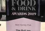The Bull Inn Voted Best Pub in Surrey