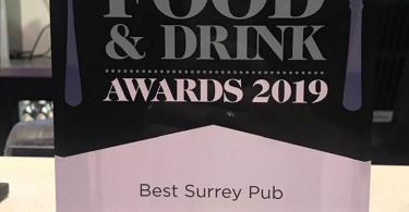 The Bull Inn Voted Best Pub in Surrey