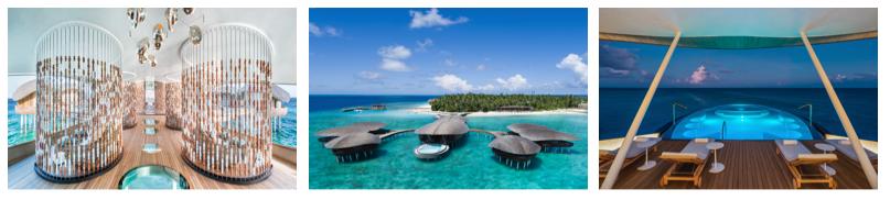 The St. Regis Maldives Vommuli Resort named best resort spa in the Indian Ocean