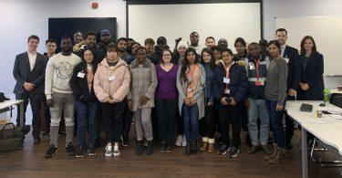Travis Perkins PLC hosts visit from MSC Finance students