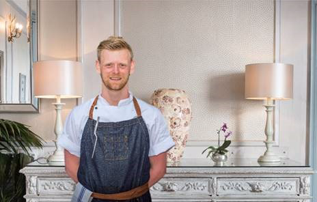 Alexandra Hotel & Restaurant, Lyme Regis appoints Chris Chatfield as Head Chef