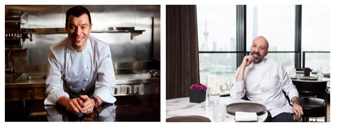 Bvlgari Chefs Luca Fantin and Niko Romito Awarded ThreeForks by Gambero Rosso