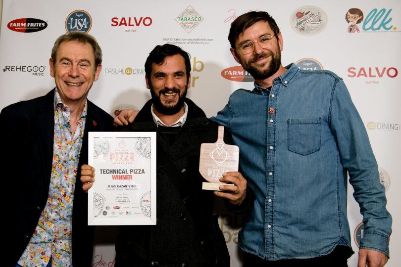 Foundry Project, Manchester, awarded Best Technical Pizza by National Pizza Awards 2019