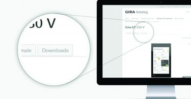 Gira UK introduce New BIM Download Service online