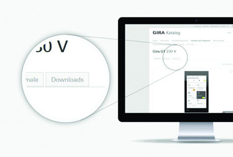 Gira UK introduce New BIM Download Service online