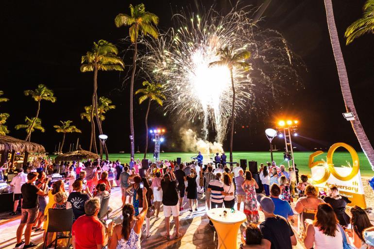 Landmark Holiday Inn® Resort Commemorates 50 years of bringing the joy of travel to the island of Aruba