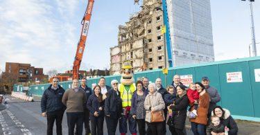 Demolition begins on £95m Park East development in Erith