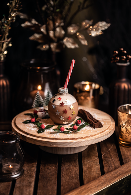 Sheraton Grand London Park Lane – Chocolate Box Winter Terrace