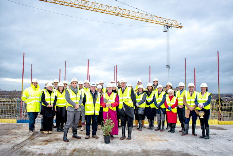 Landmark York development topped out