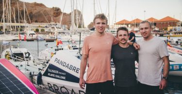 McLaren brothers back MacLean brothers' bold bid to be the first three brothers and the youngest trio to row the Atlantic in world's toughest race