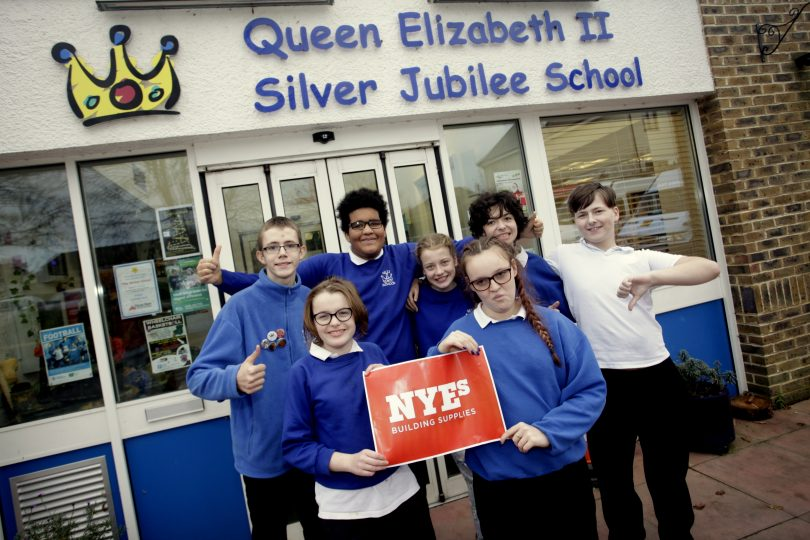 Queen Elizabeth II Silver Jubilee School receives funding