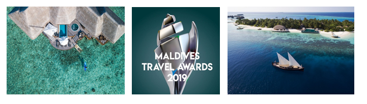 Huvafen Fushi completes hattrick at Maldives Travel Awards 2019