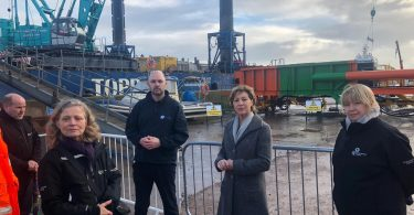 Great Yarmouth £40m tidal defence project gets underway