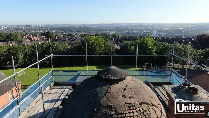 Unitas Stoke-on-Trent uses in-house drone technology to identify building repairs