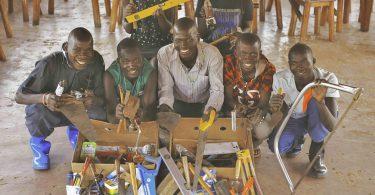 Tools needed to help young people in Africa