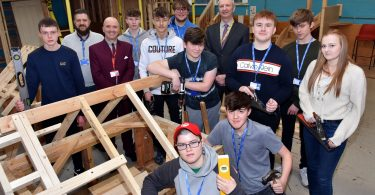 Morris to support youngsters in the construction industry