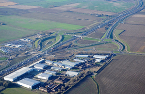 Spring opening for Britain's biggest road project